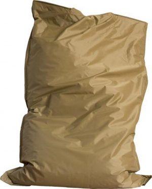 Drop & Sit Zitzak - Camel - 115 x 150 cm - Voor binnen en buiten