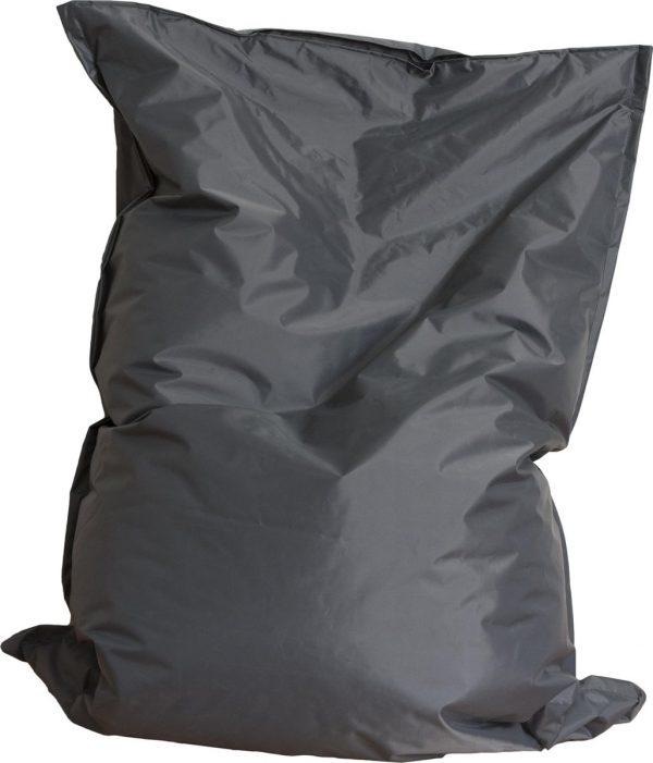 Drop & Sit zitzak - Grijs - 130 x 150 cm - binnen en buiten