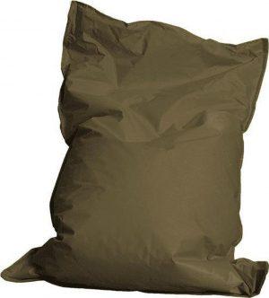 Drop & Sit zitzak - Legergroen - 100 x 150 cm - binnen en buiten