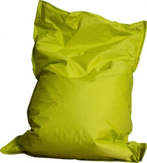 Drop & Sit zitzak - Lime - 130 x 150 cm - binnen en buiten