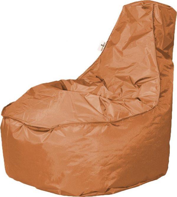 Drop & Sit zitzak Stoel Noa Junior - Camel - 100 liter