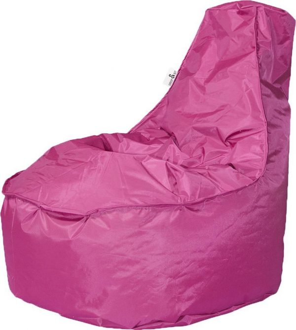 Drop & Sit zitzak Stoel Noa Junior - Fuchsia - 100 liter