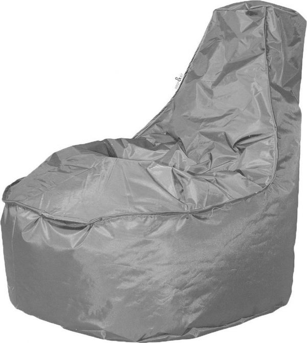 Drop & Sit zitzak Stoel Noa Junior - Grijs - 100 liter