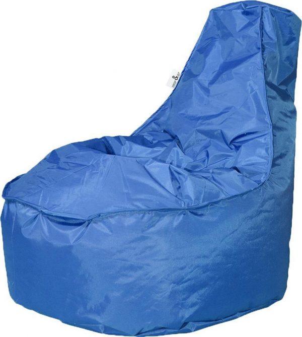 Drop & Sit zitzak Stoel Noa Junior - Kobaltblauw (100 liter)