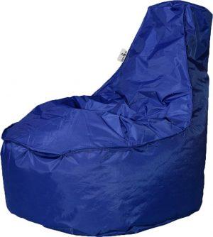 Drop & Sit zitzak Stoel Noa Junior - Marine blauw - 100 liter