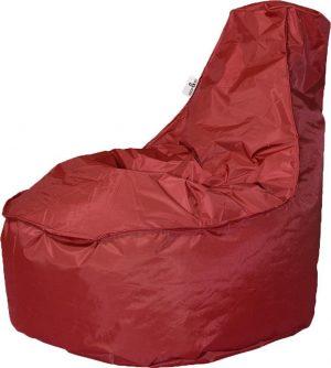 Drop & Sit zitzak Stoel Noa Junior - Rood - 100 liter