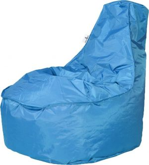 Drop & Sit zitzak Stoel Noa Junior - Turquoise (100 liter)