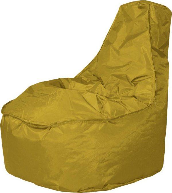 Drop & Sit zitzak Stoel Noa Large - Geel - 320 liter