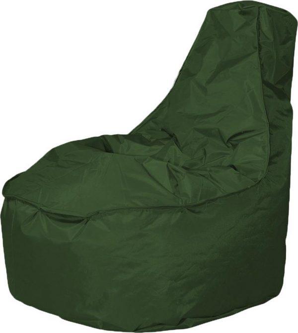 Drop & Sit zitzak Stoel Noa Large - Legergroen - 320 liter