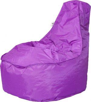 Drop & Sit zitzak Stoel Noa Large - Paars - 320 liter