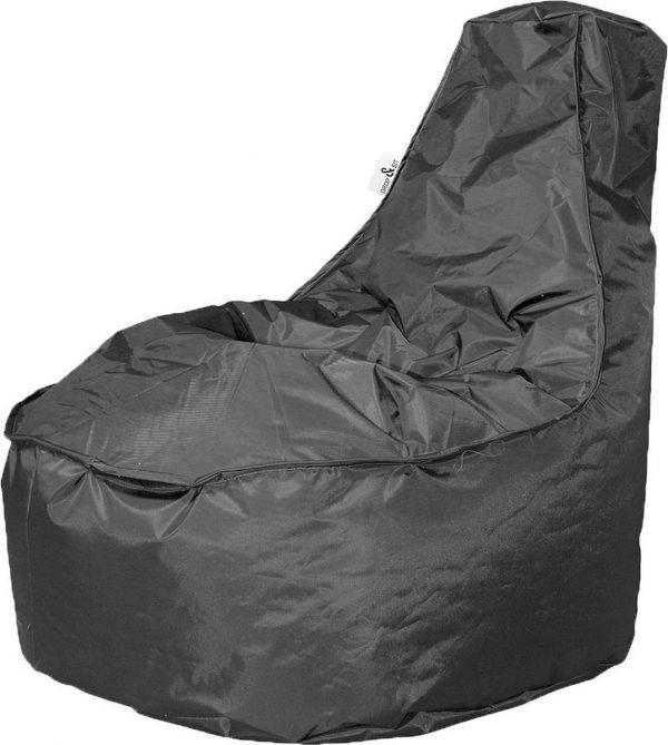 Drop & Sit zitzak Stoel Noa Large - Zwart (320 liter)