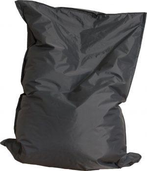 Drop & sit zitzak - Antraciet - 100 x 150 cm - binnen en buiten