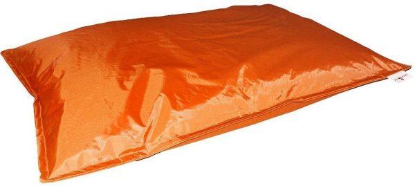 Drop & sit zitzak - Oranje - 100 x 150 cm - binnen en buiten