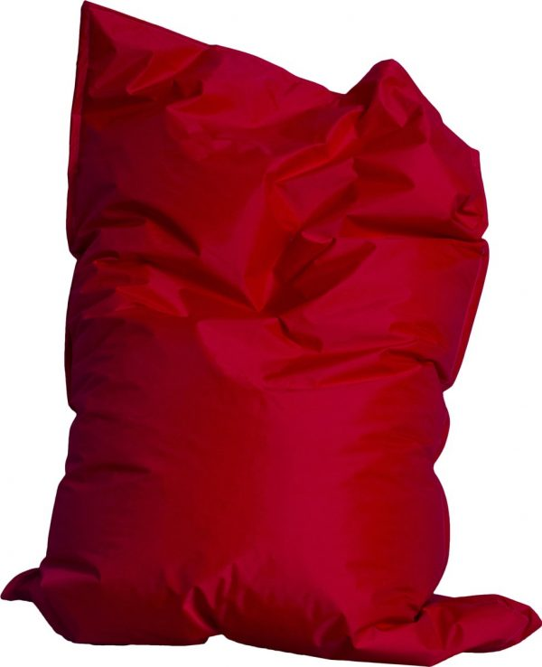 Drop & sit zitzak - Rood - 130 x 150 cm - binnen en buiten