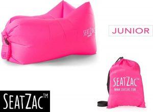 Junior Zitzak - Seatzac - Junior - Candy Pink - Roze - 50 x 95 x 40 cm - Vulbaar met lucht - Camping - Strand - Tuin - Kids
