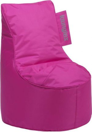 Loungiez Kinder Zitzak Stoel Junior - Fuchsia