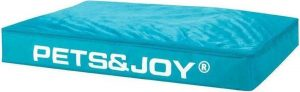Pets & Joy Hondenkussen Dog Bed - L - 80 x 120 cm - Aqua