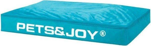 Pets & Joy Hondenkussen Dog Bed - L - 80 x 120 cm - Aqua