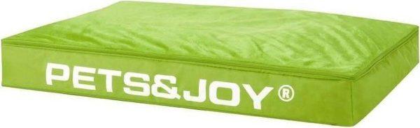 Pets & Joy Hondenkussen Dog Bed - L - 80 x 120 cm - Lime