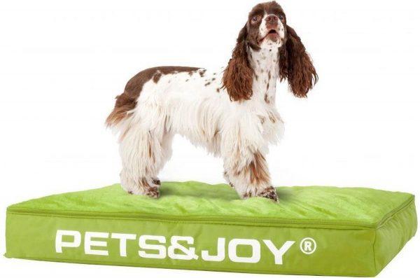 Pets & Joy Hondenkussen Dog Bed M 60 x 80 cm - Lime