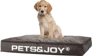 Pets & Joy Hondenkussen Dog Bed M 60 x 80 cm - Taupe