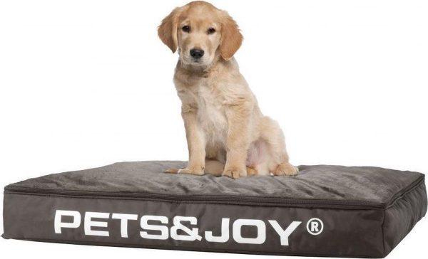 Pets & Joy Hondenkussen Dog Bed M 60 x 80 cm - Taupe