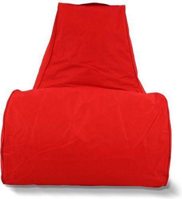 Puffi Zitzak - Lounge Stoel - Kleur: Rood