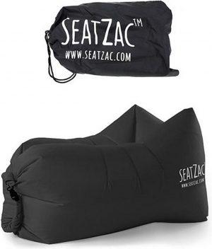 SeatZac Chill zak loungezak zwart
