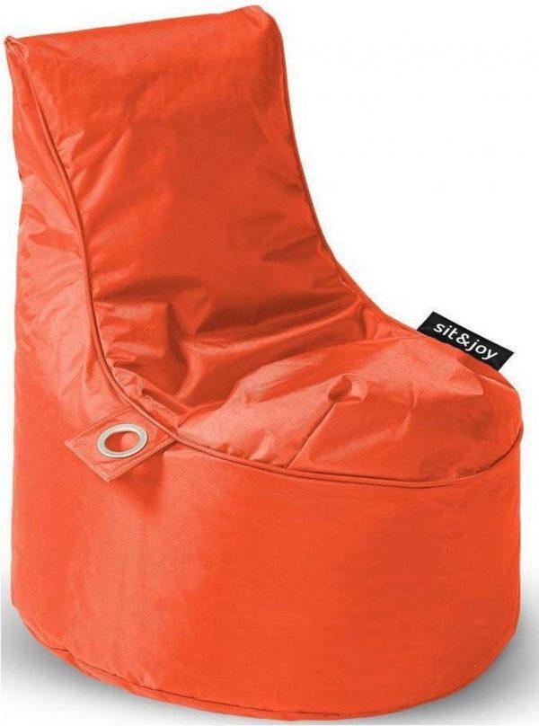 Sit&joy Kinder Zitzak Stoel Bumba - Oranje