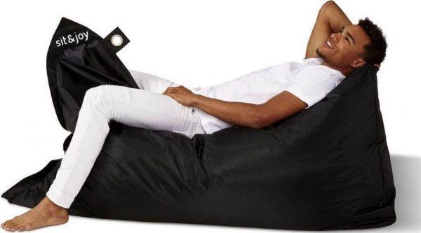 Sit&joy Largo zitzak - Zwart