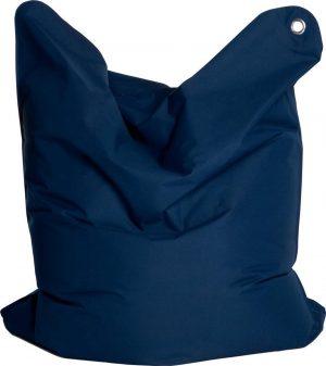 Sitting Bull zitzak large donker blauw