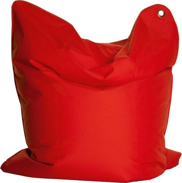 Sitting Bull zitzak large rood