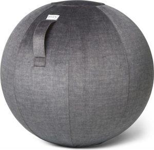VLUV BOL VARM zitbal Antraciet - 60-65cm