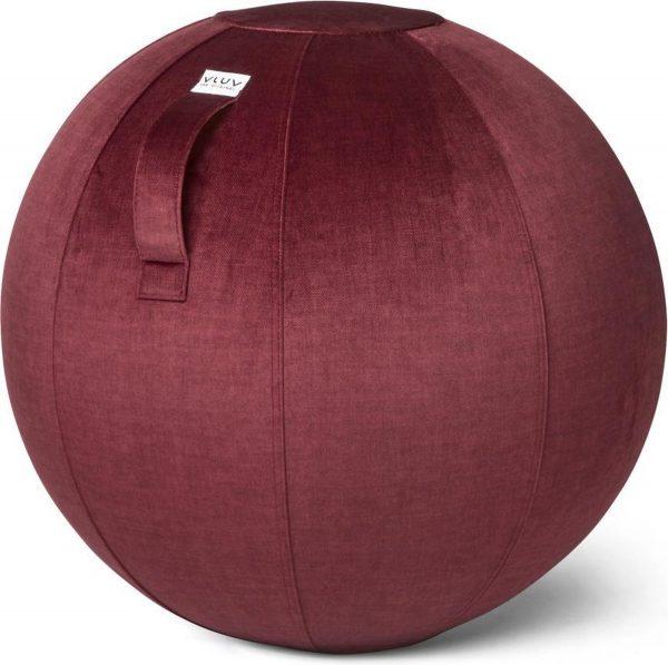 VLUV BOL VARM zitbal Bordeaux Rood - 70-75cm