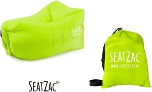 Zitzak- Seatzac - Fresh Green - Green -110 x 80 x 70 cm - Vulbaar met lucht - Camping - Strand - Tuin