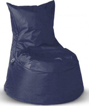 sit&joy® zitzak Dolce- Marineblauw