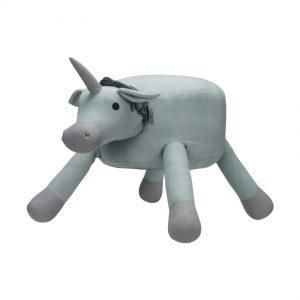 KidsDepot Unicorn Pouf Seagreen