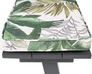 MaximaVida picknicktafel kussenpakket Bliss 180 x 27,5 x 5 cm - 2 stuks - waterafstotend