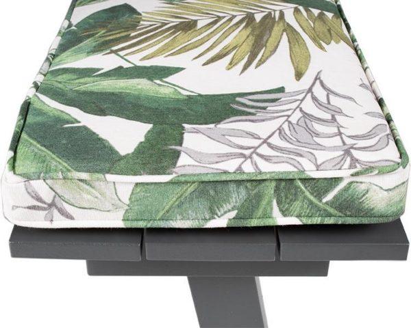 MaximaVida picknicktafel kussenpakket Bliss 200 x 27,5 x 5 cm - 2 stuks - waterafstotend