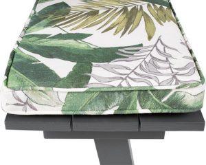 MaximaVida picknicktafel kussenpakket Bliss 55 x 27,5 x 5 cm - 4 stuks - waterafstotend
