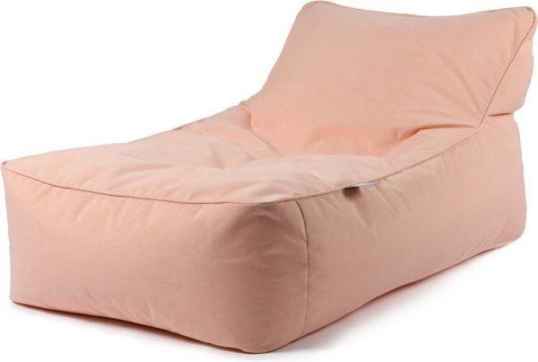 B-Bed lounger Pastel Oranje incl. bolster kussen Extreme Lounging