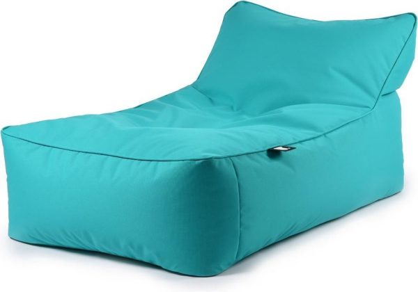 B-Bed lounger Turquoise incl. kussen Extreme Lounging