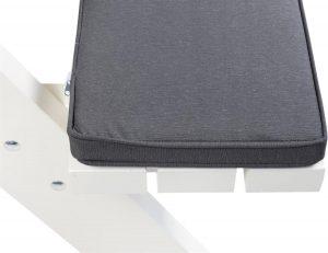 MaximaVida picknicktafel kussenpakket Antro 55 x 27,5 x 5 cm - 4 stuks - waterafstotend