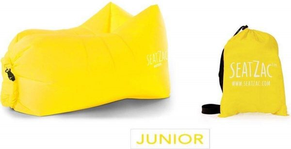 SeatZac Junior geel - chill bag zitzak - chill bag