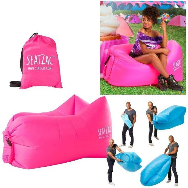 SeatZac Junior roze - chill bag zitzak - chill bag