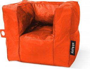 Sit&Joy - Poco - Oranje - Zitzak