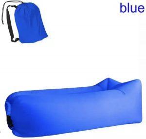 Air lounger blauw || Lucht zak|| opblasbare zitzak || XL|| Ligzak|| seatzac|| Chillbag