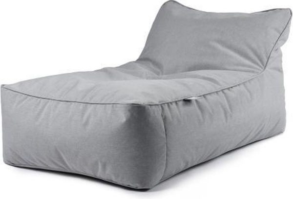 B-Bed Lounger Pastel Grijs incl. kussen Extreme Lounging