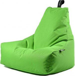 Extreme Lounging b-bag - Luxe zitzak - Indoor en outdoor - Waterafstotend - 95 x 95 x 90 cm - Polyester - Limegroen