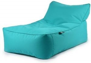 B-Bed lounger Turquoise blauw excl. kussen Extreme Lounging